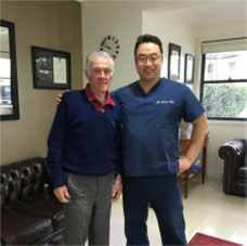 Ken Rosewall in Hills Dental Care